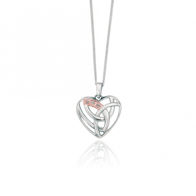 9ct Gold & Silver Eternal Love Pendant