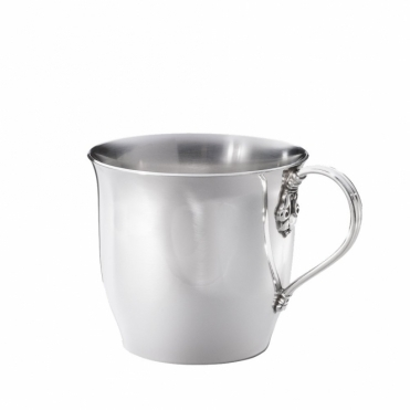Acorn Child's Cup in Silver