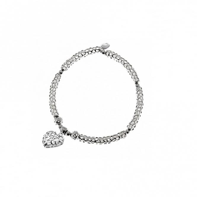 Amore Heart Bar Bracelet