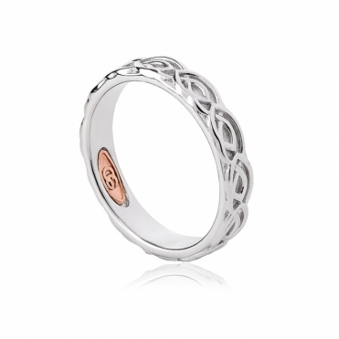 Annwyl 4mm Sterling Silver Wedding Ring