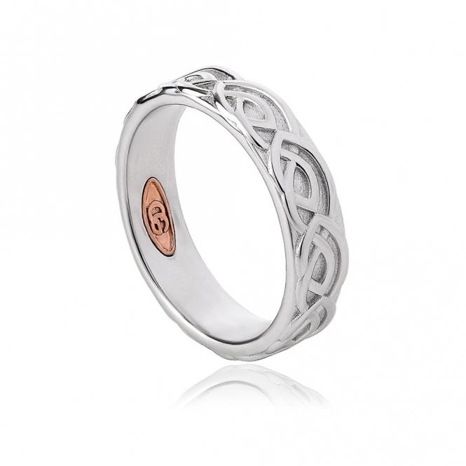 Annwyl 5mm Sterling Silver Wedding Ring