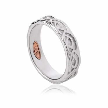 Annwyl 5mm Sterling Silver Wedding Ring