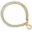 Apatite Horseshoe Biography Bracelet