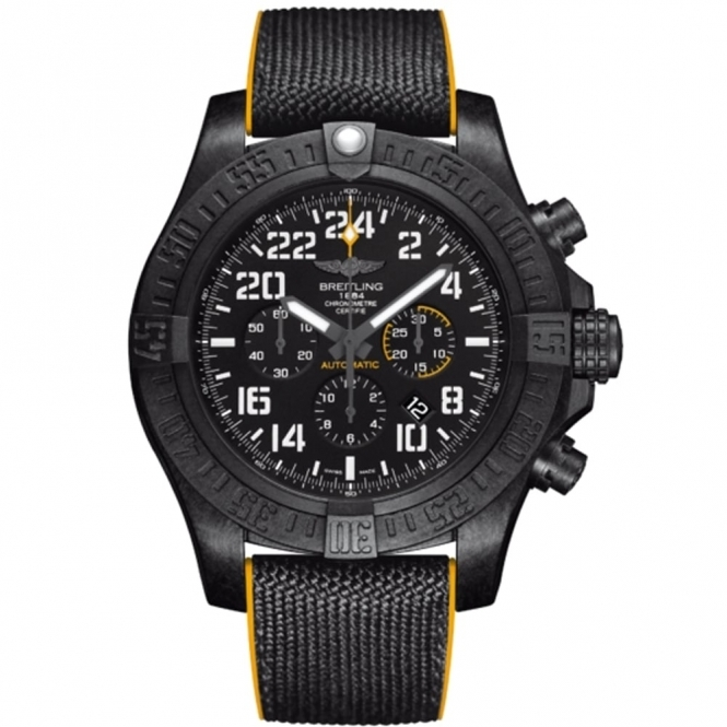"Avenger Hurricane 50mm Automatic Chronograph Watch in ""Breightlight®"""