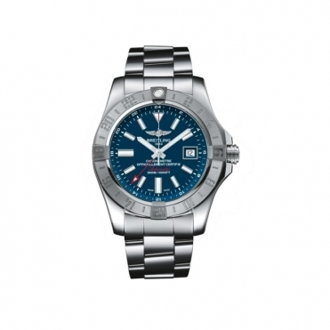 Avenger II GMT automatic chromometer with Blue Dial