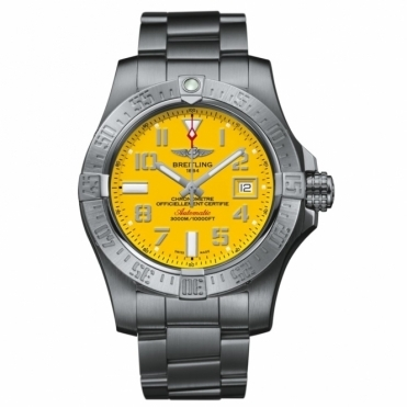 Avenger II Seawolf automatic chronometer with Cobra Yellow Dial