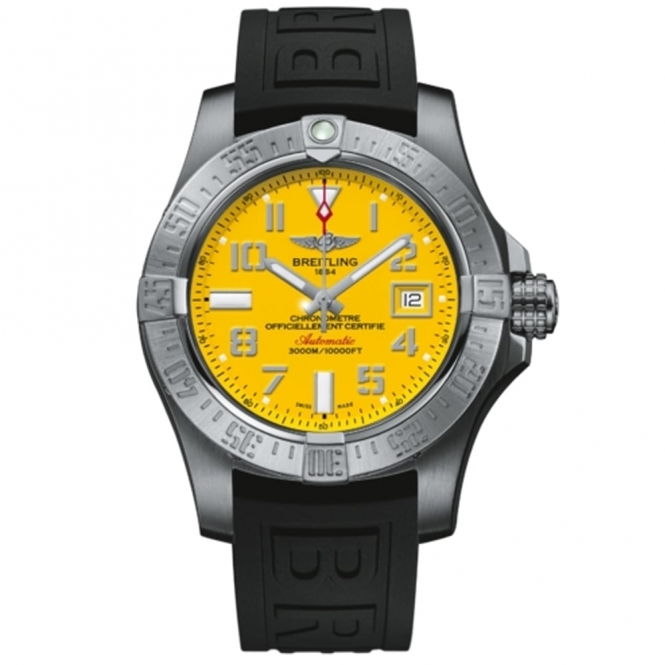 Avenger II Seawolf with Cobra Yellow Dial