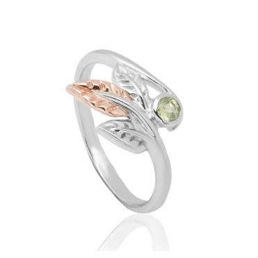 Awelon Peridot Ring