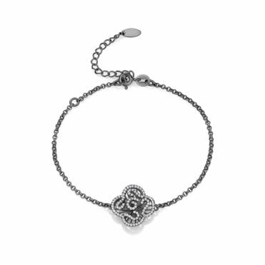 Black Rhodium Vermeil Cascade Bracelet