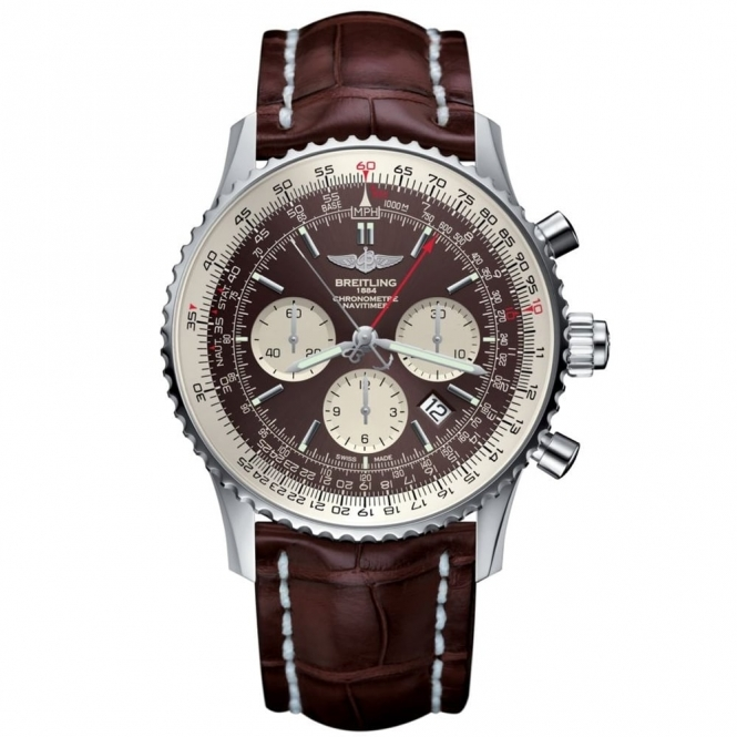 Breitling Luxury Watches | Navitimer Rattrapante Split Seconds| Whartongoldsmith