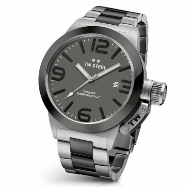 Canteen 45 Automatic Watch with Two-Tone Bracelet