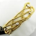 Capriccio 18ct Yellow Gold 5 Strand Bracelet