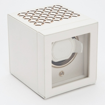 Chloe Single Cream Watch Winder With Door