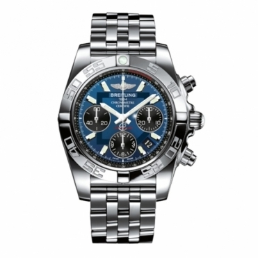 Chronomat 41 automatic chronograph with Black-eyed Blue Dial