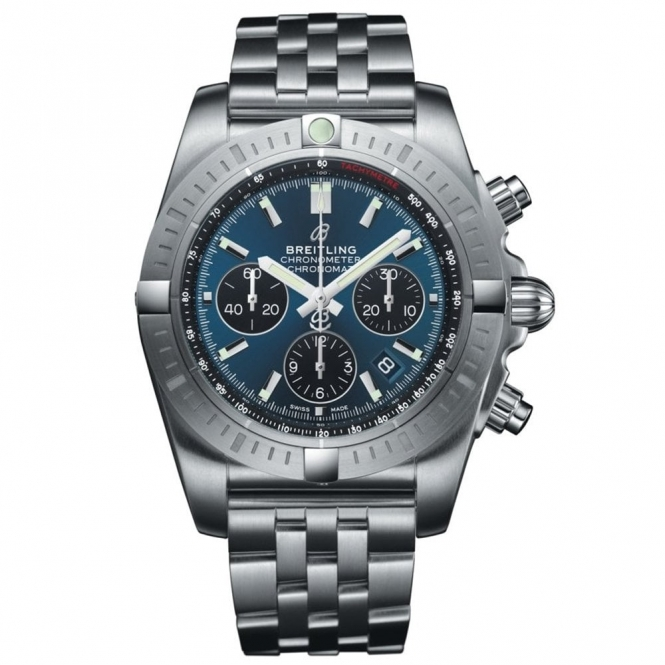 Chronomat B01 Automatic Chronograph 44mm Blackeye Blue Dial