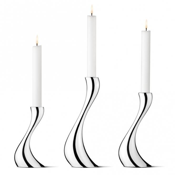 Cobra Candleholders Set of 3