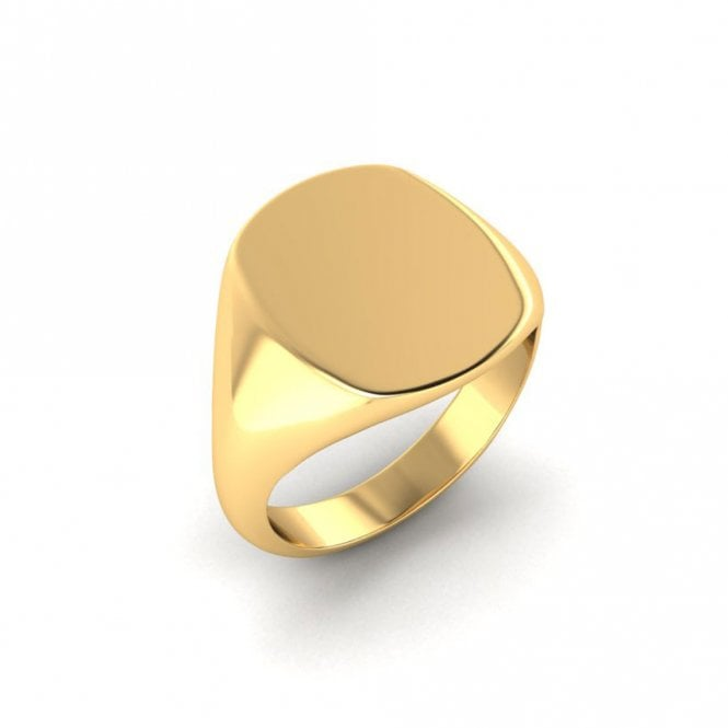 Cushion Signet Ring