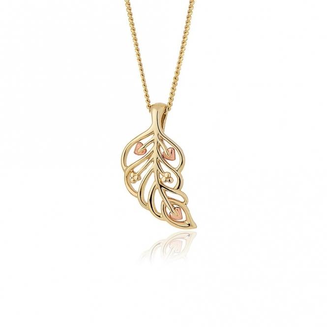 Debutante 9ct Gold Pendant