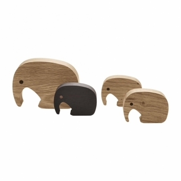 Elephant Figurine Set