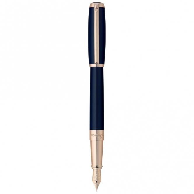 Elysée Blue Lacquer Fountain Pen - 410679