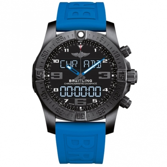 ExoSpace B55 Night Mission Superquartz Watch with Bluetooth Connectivity