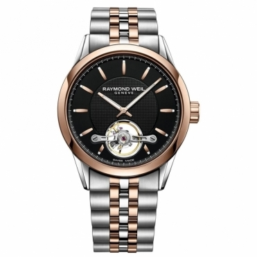 Freelancer Calibre RW1212 Gents Steel and Rose Gold PVD Automatic Watch