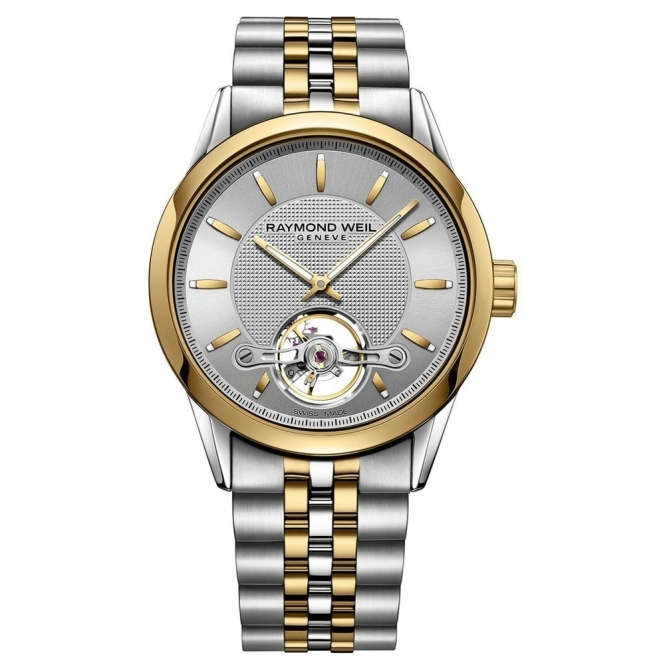 Freelancer Calibre RW1212 Gents Steel and Yellow Gold PVD Automatic Gents Watch 42.5mm