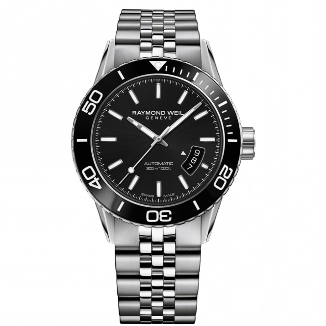 Freelancer Diver's Gents Automatic Watch 42mm Steel Case with Ceramic Rotating Bezel