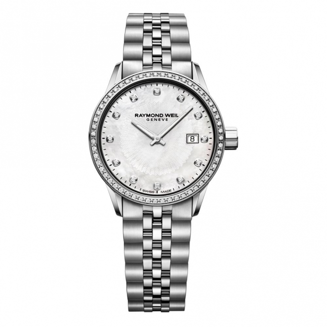 Freelancer Ladies 29mm Quartz Watch with Diamond Bezel