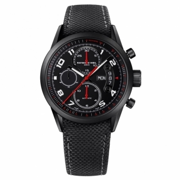 Freelancer Urban Black Automatic Chronograph 42mm