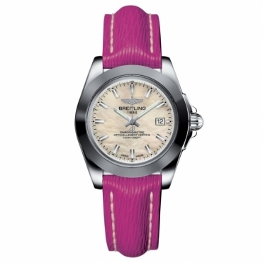 Galactic 32 Sleek T Ladies Quartz watch with Fuschia Pink Strap