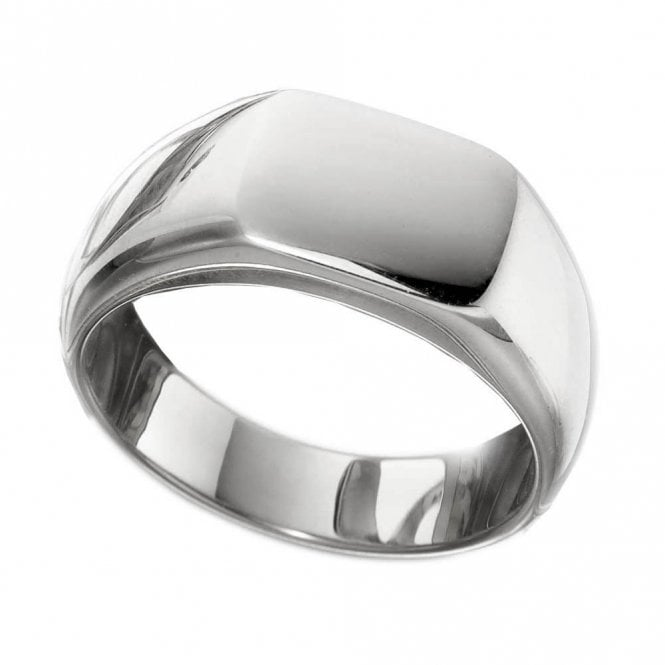 Gents Cushion Signet Ring