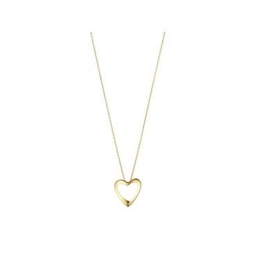 Gold 2014 Artist Heart Pendant