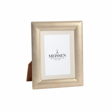 Gold Mesh Picture Frame