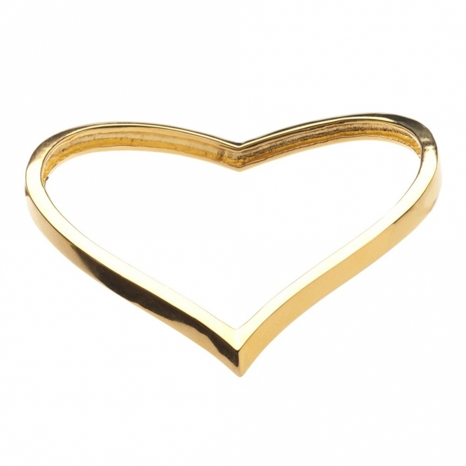 Gold Vermeil Venom Plain Bangle