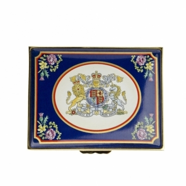Golden Jubilee Enamel Box L500