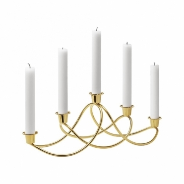 Harmony Gold Plated Candleholder