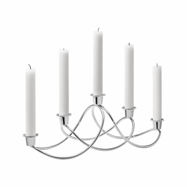 Harmony Stainless Steel Candleholder