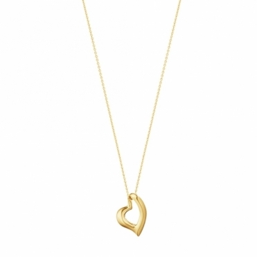 Hearts of Georg Jensen 18ct Gold Pendant