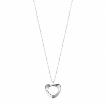 Hearts of Georg Jensen Sterling Silver Small Pendant