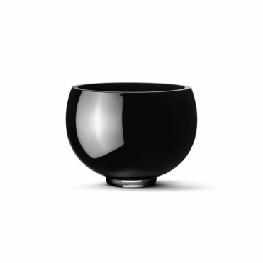 Ilse Black Glass Bowl