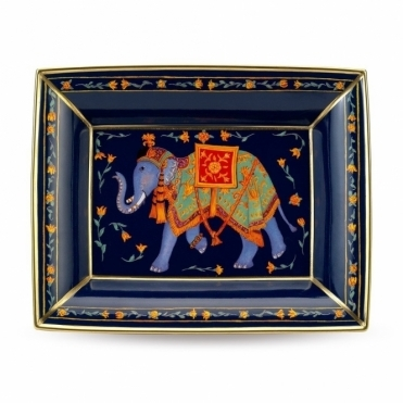 Indian Elephant Trinket Tray