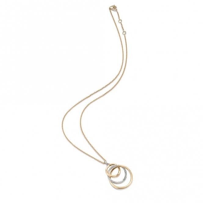 Jaipur 18ct White Gold Links Diamond Necklace