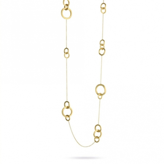 Jaipur Link 18ct Gold Long Necklace