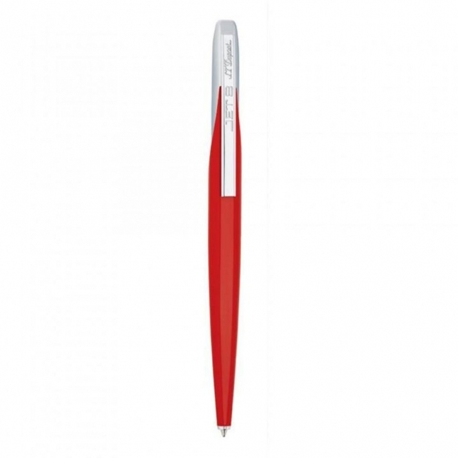 Jet 8 Ballpoint Pen in Fiery Red