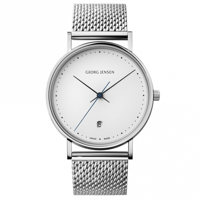 Koppel K38-ST02 Quartz Watch with Mesh Bracelet