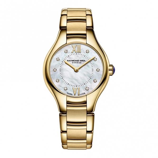 Ladies Noemia Gold PVD & Diamond Bracelet Watch