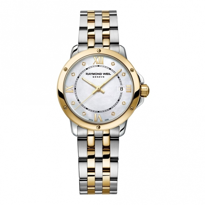 Ladies Tango Bi-Colour Diamond Dial Watch
