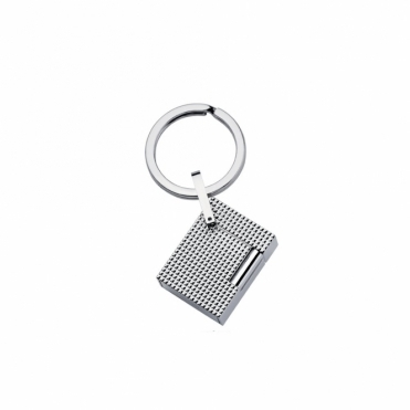 Lighter Style Key Ring in Palladium Finish