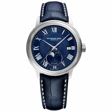 Maestro Gents Moonphase Automatic Watch. 40mm